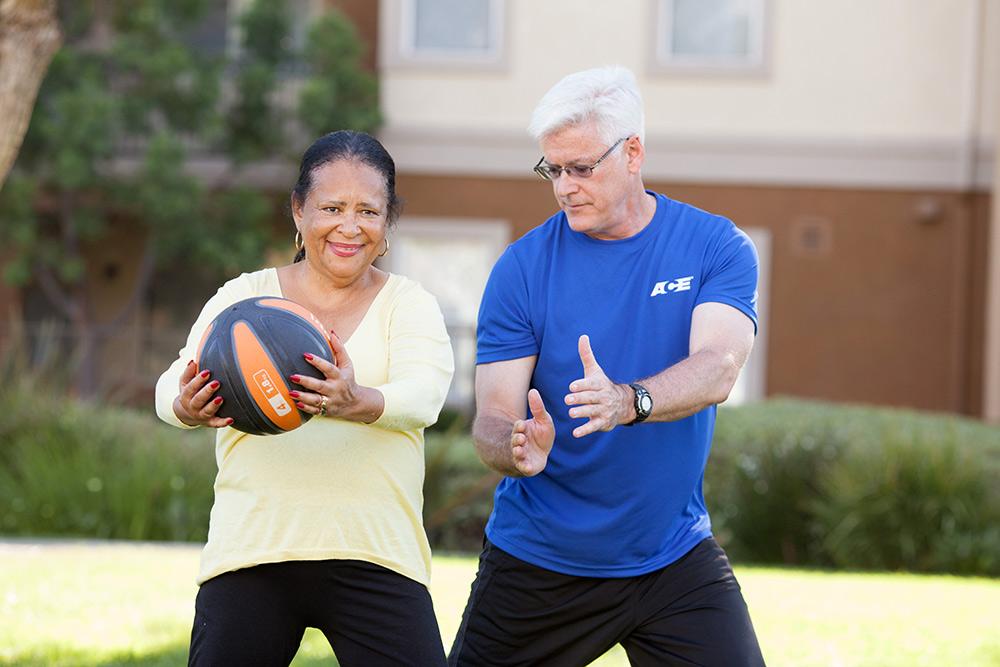 fitness trainer for senior