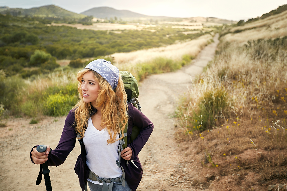 hiker lifestyle photo