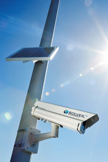 solar camera product photo