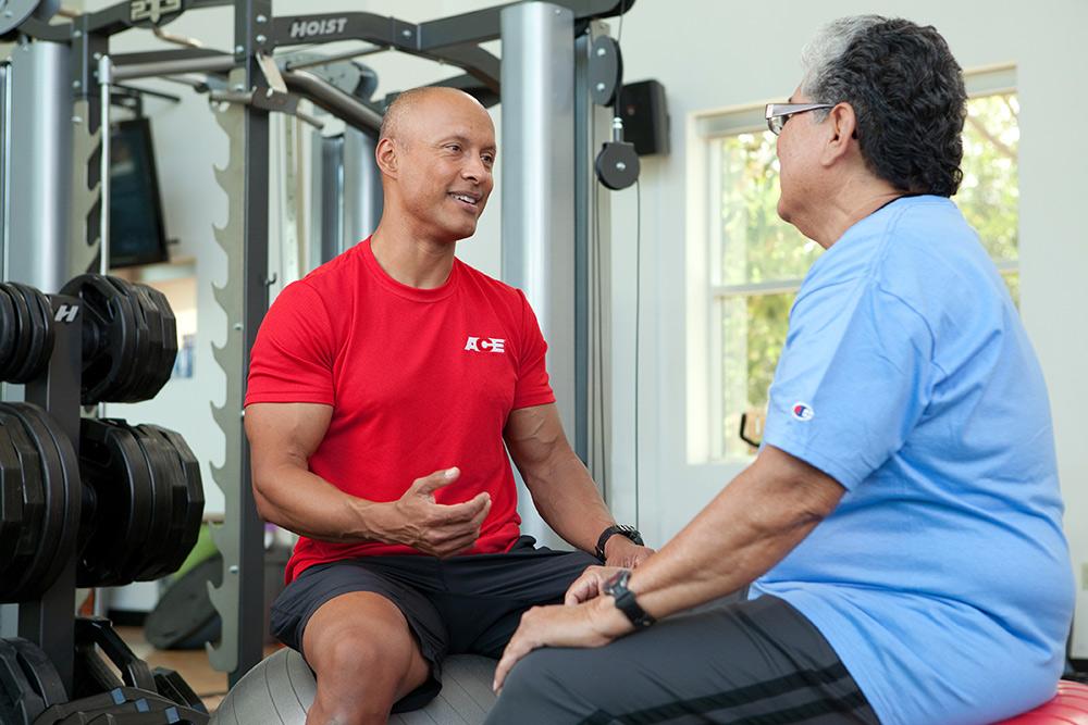 senior fitness consultant photo