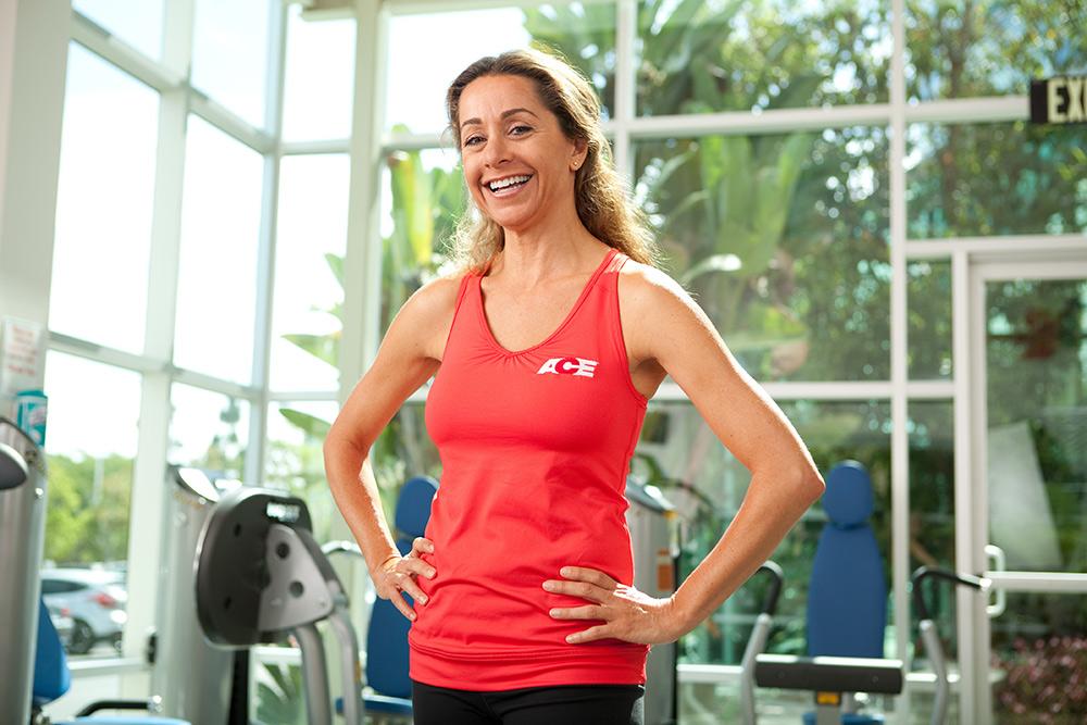 personal trainer portrait