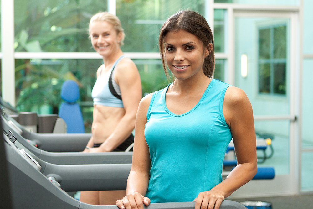 treadmill women fitness photo
