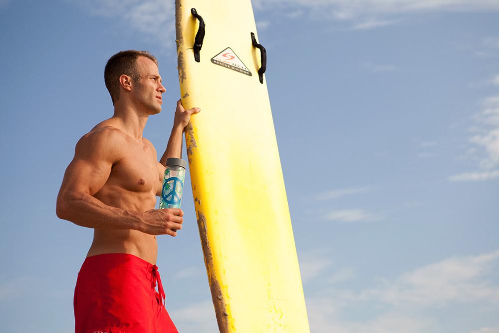 surfer lifestyle photo