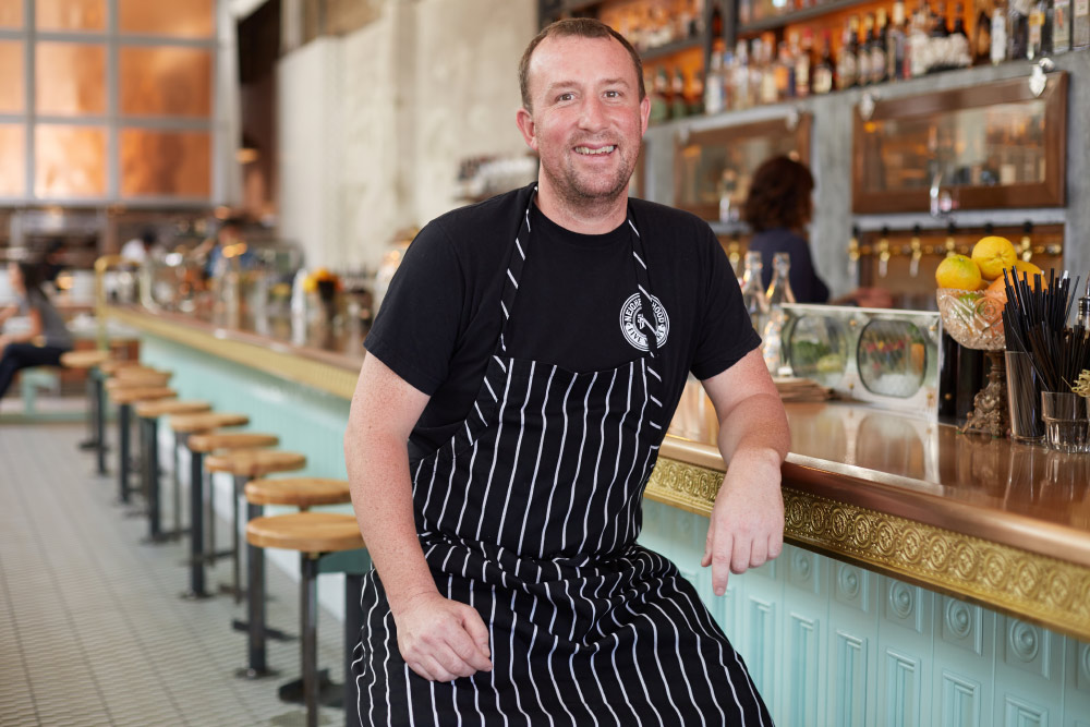 chef portrait at Ironside in San Diego's Little Italy