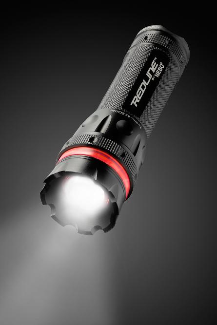 flashlight product photo