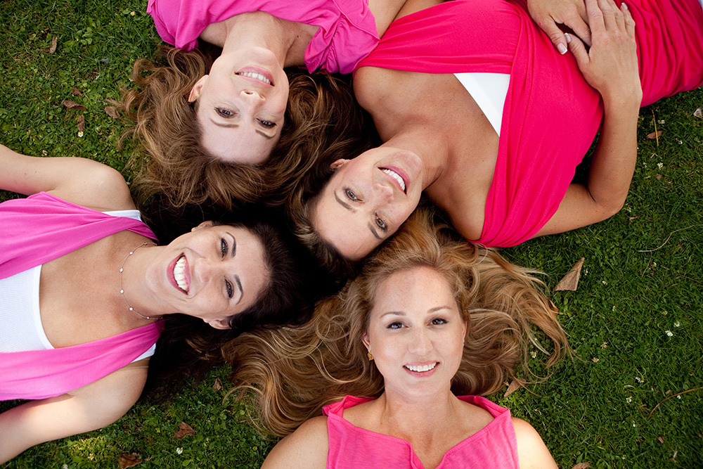 ladies lifestyle group portrait
