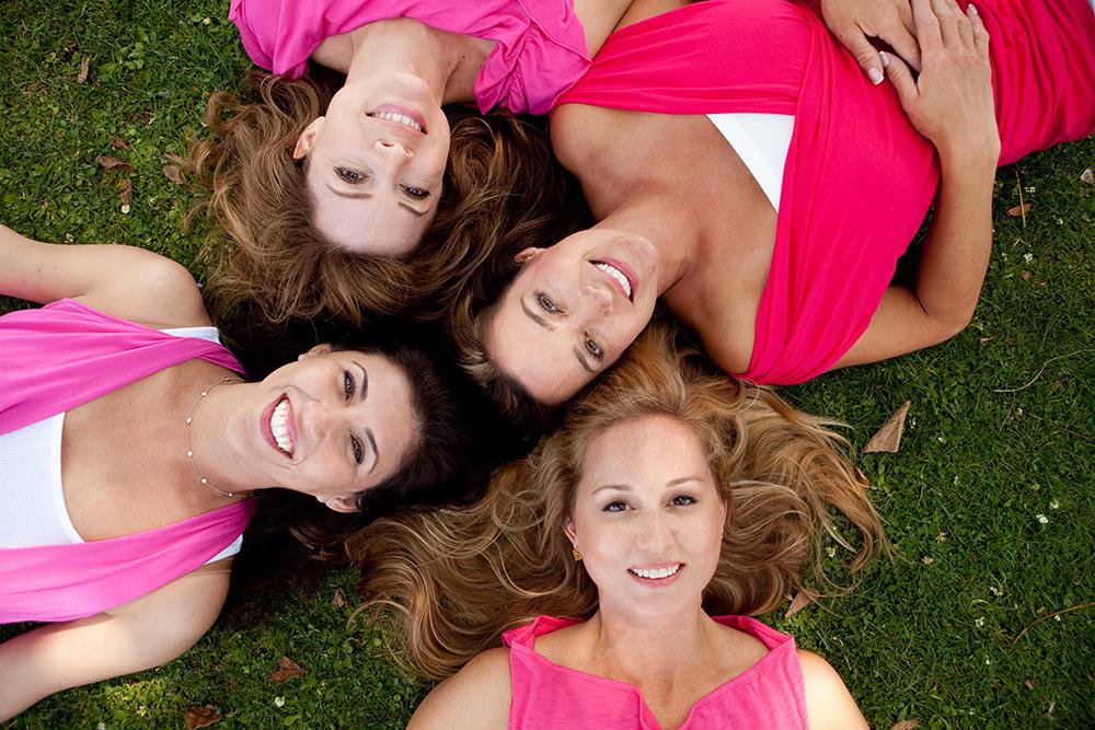 ladies lifestyle group portrait