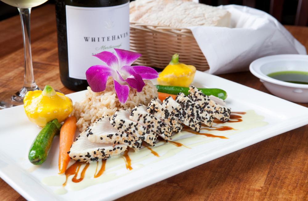 food photography: tuna