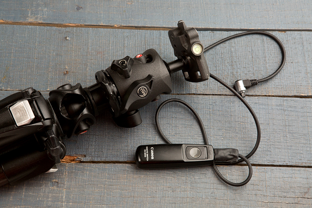 tripod and remote switch