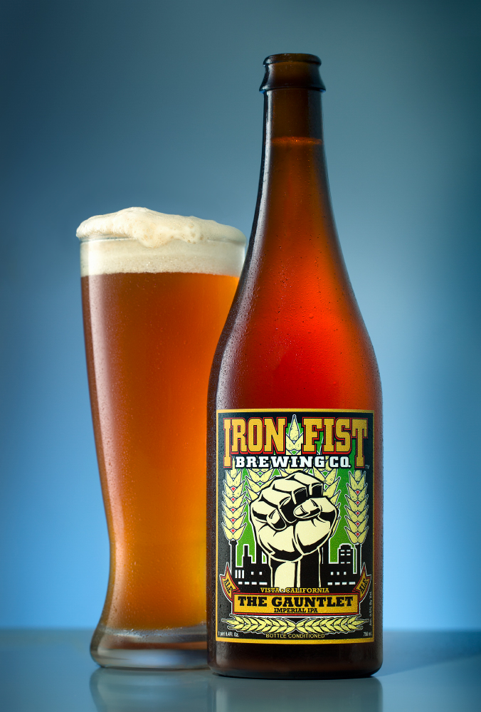 beer photo - gauntlet ipa iron fist